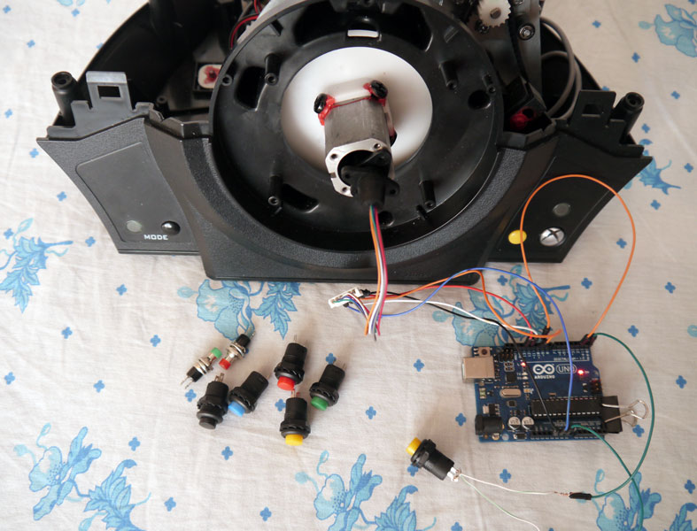Slow Down Stepper Motors Speed Using Stepper Driver Drv 8825 moreover Arduino Unity Mpu 6050 Using Gyoscope To Control Unity3d also Rtc Ds 1307 Arduino moreover Hacking A Thrustmaster Tx Rw Wheelbase With Arduino Uno Part 2 furthermore 222319541203. on arduino wiring