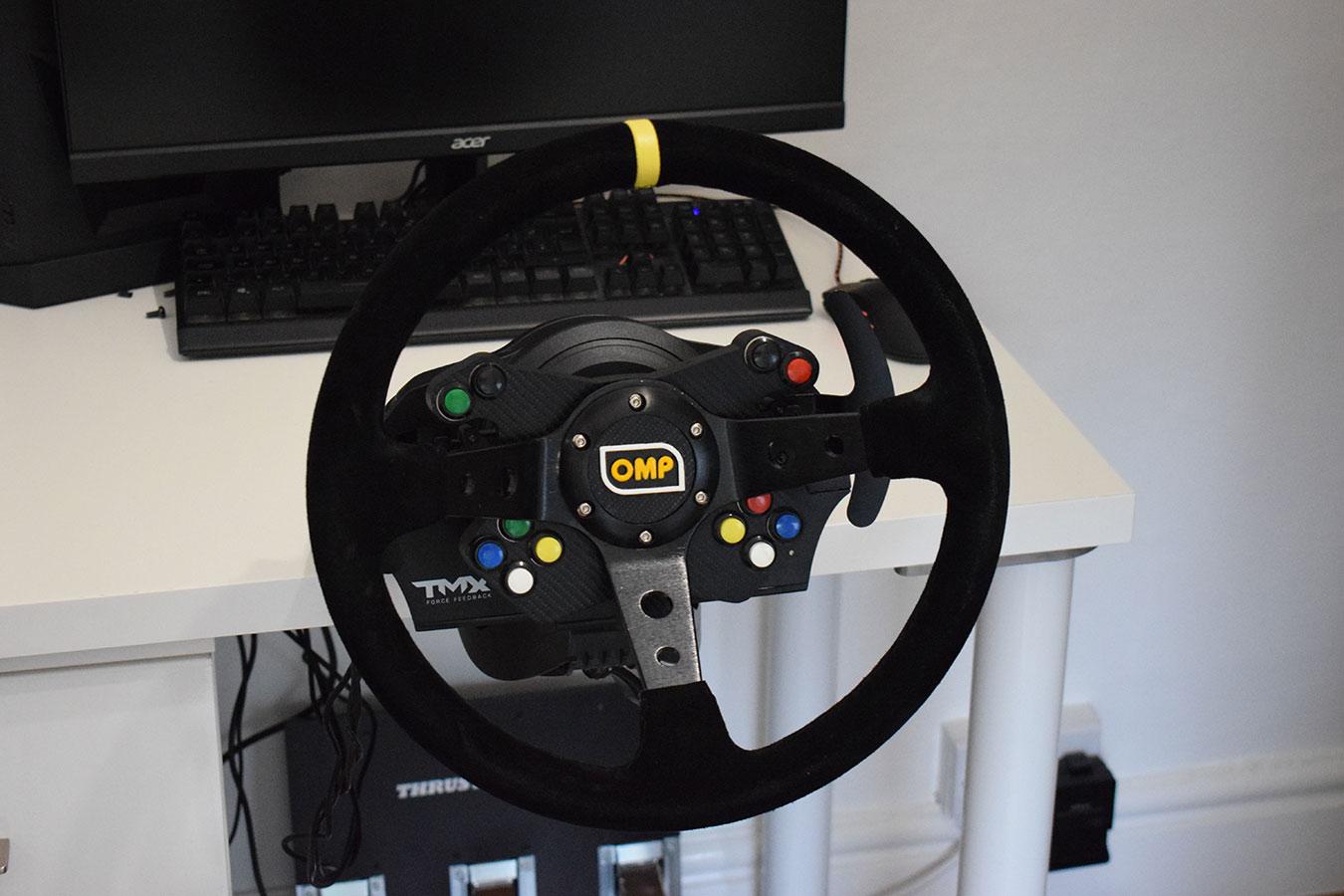 Custom Steering Rim For Thrustmaster Tmx